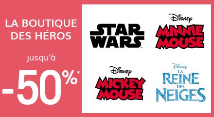 La boutique des héros jusqu'à -50%*