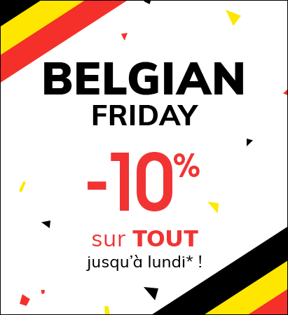 Belgian Friday -10% sur tout jusqu'à lundi