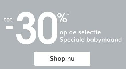 tot -30%* op de selectie!