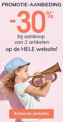 -30% bij aankoop van 2 artikelen op de HELE website!