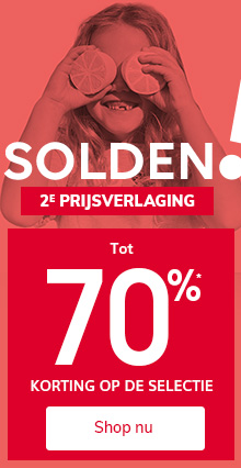 Tot 70%* korting op de SOLDEN