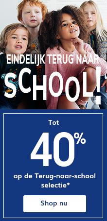 Tot -40% op de terug-naar-school selectie*