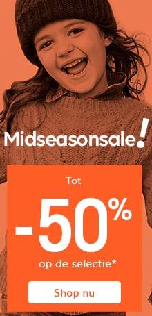 Tot -50% op de Midseasonsale selectie*!
